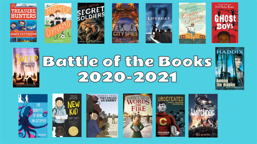 2020-2021 Battle of the Books book selections